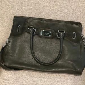 Michael Kors Hunter green shoulder bag